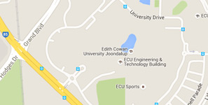 Megamenu ECU Campuses